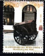 Peru 2001 Mi Nr  1787, Post- En Philatelie Museum - Peru