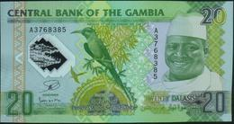 GAMBIA - 20 Dalasis 20.07.2014 {Polymer} UNC P.30 - Gambia