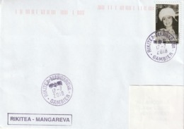 13112  RIKITEA - MANGAREVA - GAMBIER - POLYNÉSIE FRANÇAISE - Lettres & Documents