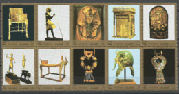 Fujeira,Sweethearts Of Pharaoh Tutankhamen-Amun 1972.,MNH - Fudschaira