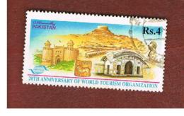 PAKISTAN  -  SG 950  -  1995  W.T.O. ANNIVERSARY: TOURIST ATTRACTIONS   -  USED ° - Pakistan