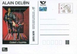 """Entier Postal De 2015 Sur Carte Postale Illustrée """"ALAIN DELON"""" - Entiers Postaux"""