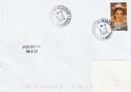 13113  POUHEVA - MAKEMO - TUAMOTU - POLYNÉSIE FRANÇAISE - Griffe Linéaire - Lettres & Documents