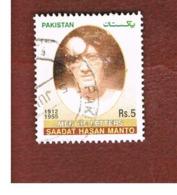 PAKISTAN  -  MI  1241  -  2005  S.H. MANTO, WRITER -  USED ° - Pakistan