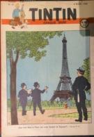 Hebdo Tintin Belgique N°10 Du 4 Mars 1948. Hergé - Tintin
