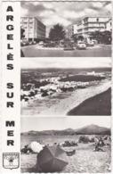 66. Pf. Souvenir D'ARGELES-SUR-MER. 3 Vues. 2040 - Argeles Sur Mer