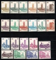 Belg. 1953/57  TR 336/54B** Les 21 Val./ De 21 Waarden MNH - 1952-....