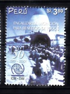Peru 2002 Mi Nr  1794, Airplane, Vliegtuig, Transport, Antonow An-124 Rusland - Peru