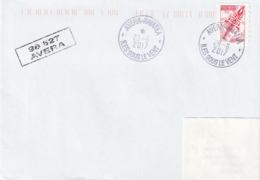 13115  AVERA - RAIATEA - Iles Sous Le Vent - POLYNÉSIE FRANÇAISE - Griffe Linéaire - Lettres & Documents