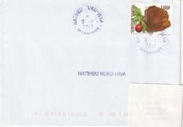 13116  HATIHEU - NUKU -HIVA - MARQUISES - POLYNÉSIE FRANÇAISE - Griffe Linéaire - Lettres & Documents