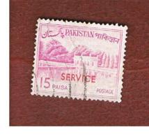 PAKISTAN  -  SG O98  -  1965 OFFICIAL STAMP: SHALIMAR GARDENS  (OVERPRINTED)    -  USED ° - Pakistan