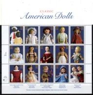USA. N°2630-44 De 1997. Poupées Américaines. - Puppen
