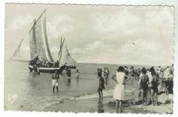 BERCK Plage -la Promenade En Mer - Circulée 1949 - Bon état - Format 9x14 - Berck