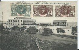 SENEGAL - DAKAR - Quartier De L'état Major   (voyagée ) - Senegal