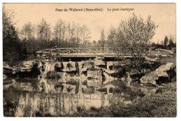 WOLUWE - Le Pont Rustique Dans Le Parc - Woluwe-St-Pierre - St-Pieters-Woluwe