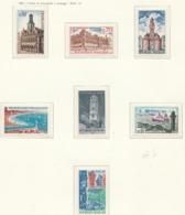 PIA  - FRANCIA  - 1966-67  : Vedute Di Monumenti E Paesaggi -  (Yv  1499-1506) - Holidays & Tourism