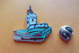 Pin's,voiture,Auto,CHEVROLET 59, US Car, Suisse,limité - Autres