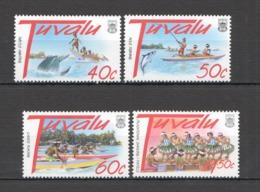 Y550 1997 TUVALU FISH & MARINE LIFE CULTURE TOURISM #784-87 SET MNH - Holidays & Tourism