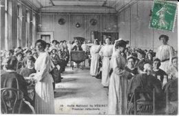 78 - ASILE NATIONAL DU VESINET - N° 18 - Premier Réfectoire - Circulé - A.T. - Le Vésinet