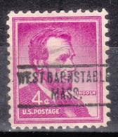 USA Precancel Vorausentwertung Preo, Locals Massachusetts, West Barnstable 734 - United States