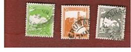 PALESTINA  -  SG 91.97  -  1927  DEFINITIVES   -  USED ° - Palestina