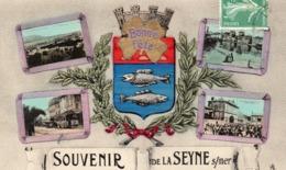 83 SOUVENIR DE LA SEYNE SUR MER MULTIVUES - La Seyne-sur-Mer