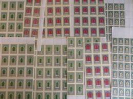 Mongolie Série YT N° 149A/149E X 100 Séries Complètes Neufs ** MNH. TB. A Saisir! - Mongolei