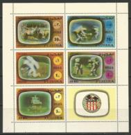Fujeira,Apollo XVI 1972.,mini Sheet,MNH - Fujeira