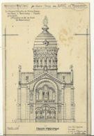 70 - RONCHAMP / RECONSTRUCTION DE LA CHAPELLE DE NOTRE DAME DU HAUT - France