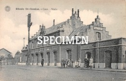 Gare- Statie - Rhode St- Genèse - Sint-Genesius-Rode - Rhode-St-Genèse - St-Genesius-Rode