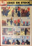 Hebdo Tintin Belgique N°16 De 1957 Hergé - Tintin