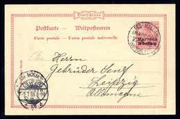 Beleg Deutsche Auslandspost Marokko - Stamps