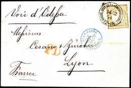 Beleg Deutsche Auslandspost Türkei, Vorläufer - Stamps
