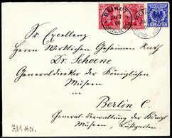 Beleg Deutsche Auslandspost Türkei Mitläufer - Stamps