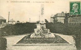 WW 14 COURSEULLES-SUR-MER. Monument Aux Morts 1923 - Courseulles-sur-Mer