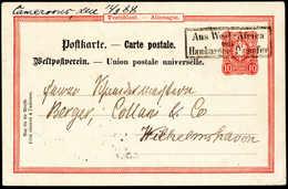 Beleg Deutsche Kolonien Kamerun, Vorläufer - Francobolli