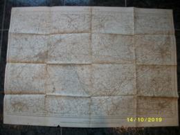 Topografische Kaart / Stafkaart Van Kortrijk (Oudenaarde - Ronse - Orroir - Harelbeke - Deerlijk) - Cartes Topographiques