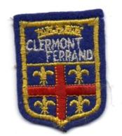 ECUSSON  FEUTRINE BLEUE     CLERMONT FERRAND - Patches