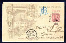 Beleg Macau - Stamps