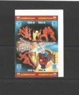 Azerbaijan 2004 ATHENS OLIMP.GAMES INPERF.4 STAMPS - Azerbaiján