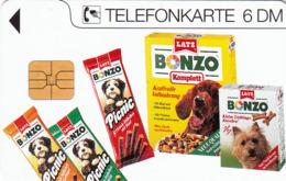 GERMANY - Bonzo 1 Latz (Animals,Dogs) , K 1042-08/93 , 4.000 Tirage ,used - Duitsland