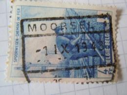 Tr   276   Obl   MOORSEL - Chemins De Fer