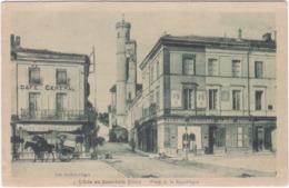 32. L'ISLE-EN-JOURDAIN. Place De La République. 4 - Sonstige Gemeinden