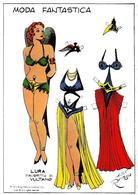 El Boletin: Poster DIN 3 Numero 005 Flash Gordon Modelo 05: Lura La Favorita De Vultano - Unclassified