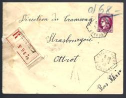 RECOMMANDÉ EN PROVENANCE DE PRIGONRIEUX - DORDOGNE - TYPE CÉRES - - Lettres & Documents