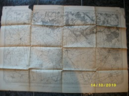 Carte Topographique De Péruwelz (Rouillon - Hollain - Maubray) - Cartes Topographiques