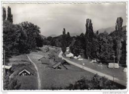 Carte Postale 68.  Munster   Camping Du Parc De La Fecht  Trés Beau Plan - Munster
