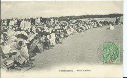 MALI - TOMBOUCTOU - Avant La Prière    ( Voyagée) - Mali