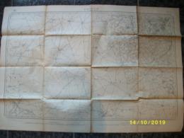 Topografische / Stafkaart Van Proven (Poperinge - Steenvoorde - Wormhout) - Cartes Topographiques