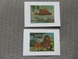 2 Cartes Postales Disney' Livre De La Jungle - Altri
